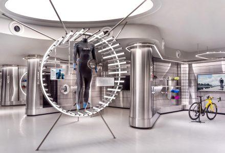 """新加坡·Durasport""""未来主义""""高性能体育用品专卖店"""
