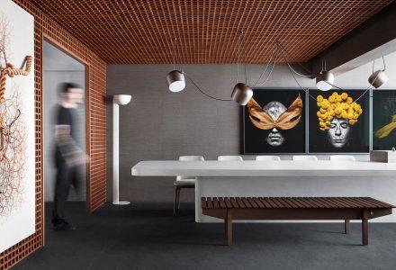 圣保罗100平米Grid复式公寓设计