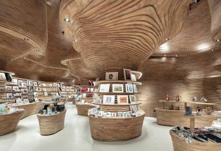 """""""洞穴之光""""卡塔尔国家博物馆零售店"""