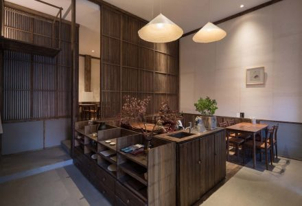 """北京·""""元古本店""""餐厅-慢享生活 / 无序建筑"""