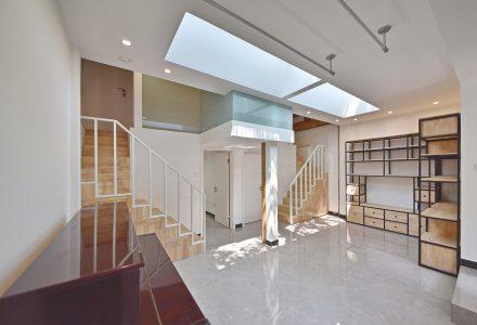 胡同住宅改造-北京50平米六口之家