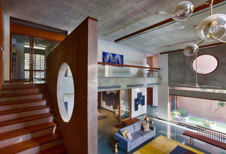印度Shaila Patel的三代同堂独立住宅