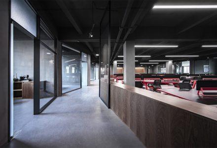 广州明道灯光照明办公空间设计