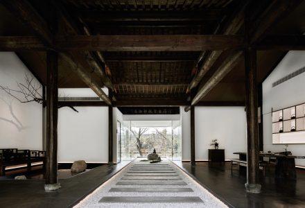 杭州·无界西溪精品茶室 / 时上建筑空间