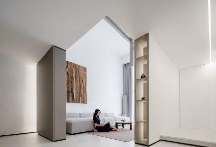 """广东""""吴宅(续居)""""复式公寓设计"""