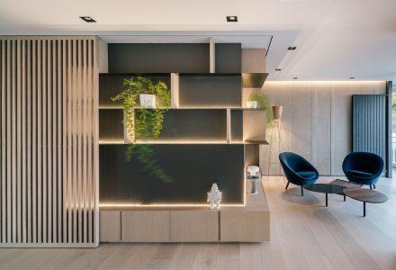西班牙马德里AXII公寓设计