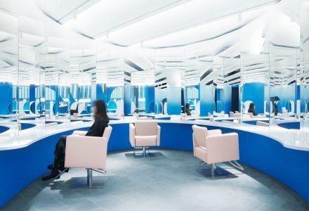 北京·蓝色迷雾Blue Mist美容沙龙 / 123 architects