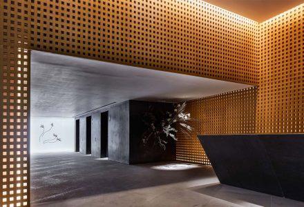香港·Fleur Pavilia高档公寓会所及门厅设计