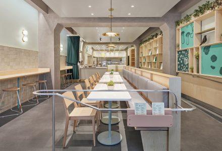纽约·Junzi Kitchen中餐厅设计