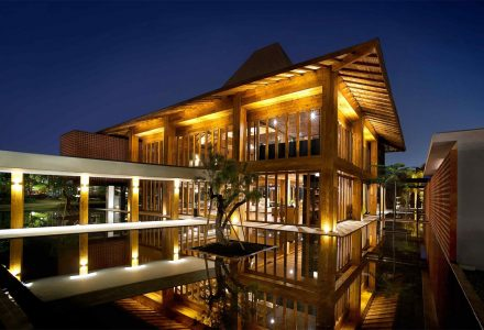 """印度尼西亚·""""杜格洛""""豪华简易别墅酒店"""