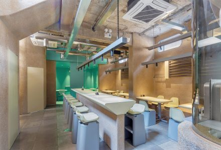北京·北27号·手禾火餐厅空间设计 / 大田作物