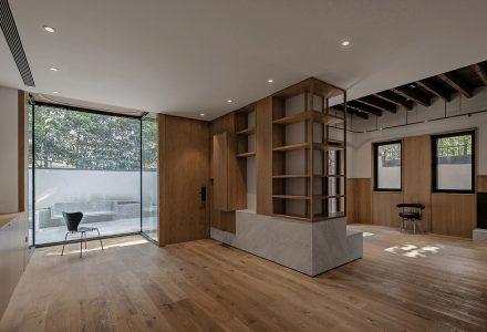 """上海""""极小天井""""里弄住宅设计"""