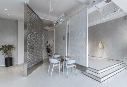 """太原·""""碧洛诗""""衣咖馆复合空间设计"""
