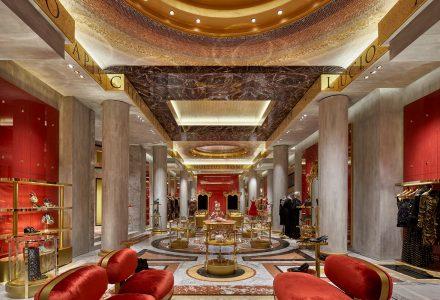 罗马·杜嘉班纳(Dolce&Gabbana)旗舰店设计