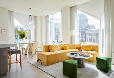 旧金山优雅精致的公寓设计