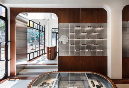 香港·KHROMIS品牌眼镜店设计