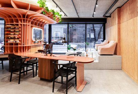 加拿大蒙特利尔·Le Hideout美容店设计