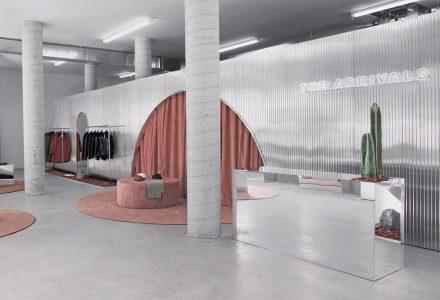 时尚品牌The Arrivals在美国三个城市的快闪店