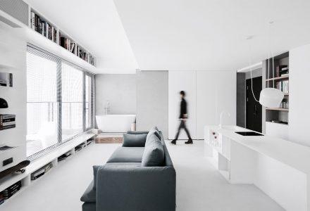 """南京""""城市岛""""小户型公寓设计"""
