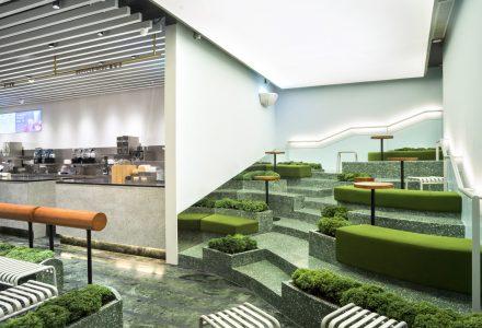 """杭州·国大城市广场""""喜茶热麦店""""/ Nota Architects"""