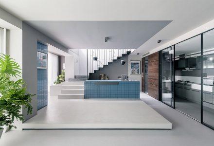 北京三层顶层公寓设计 / 意思建筑