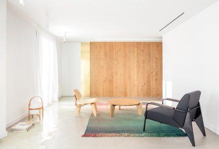 巴塞罗那Atic Aribau平层公寓设计