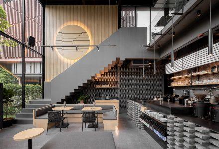 曼谷·Kaizen品牌咖啡厅设计