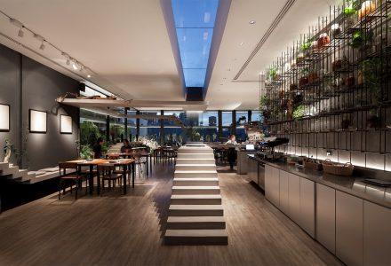曼谷·Nowhere顶层酒吧餐厅设计