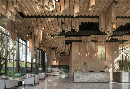 泰国曼谷·Oka Haus售楼处设计