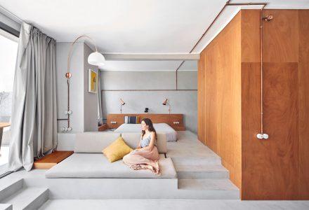 巴塞罗那56平米小户型顶层公寓