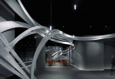 """广州·""""凤和新城""""售楼中心设计"""