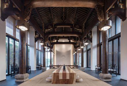 九华山莲花小镇·正清和雅禅院酒店设计