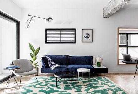 特拉维夫两居室公寓改造设计