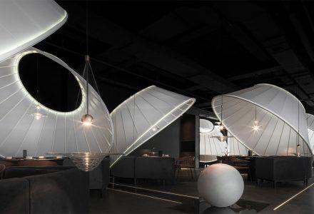 """福州·""""上·泰式锅物""""艺术火锅餐厅设计"""