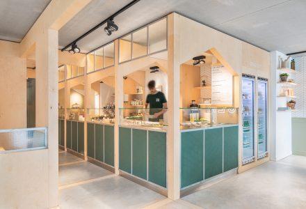 荷兰阿姆斯特丹·SLA沙拉轻食餐厅设计