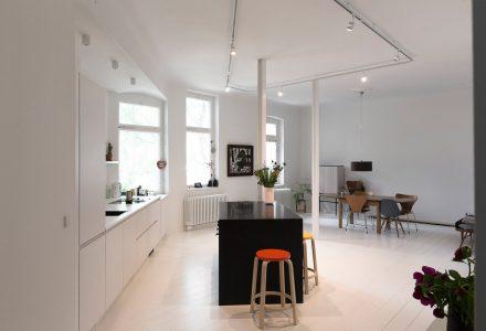 柏林Finnowstrasse公寓改造