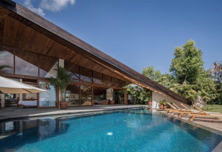 巴厘岛Cliff Front 7私人别墅设计