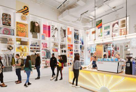 纽约·WeWork的Made by We联合办公+零售空间