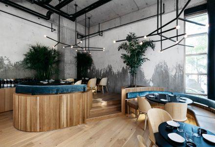 蒙特利尔·RYÙ日本连锁餐厅设计