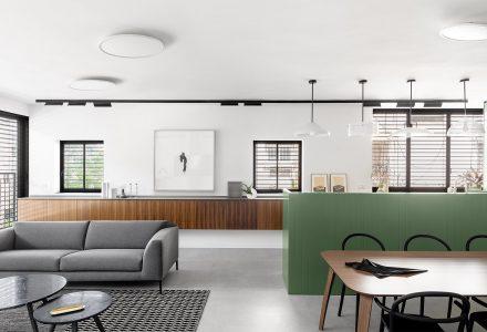 以色列BZ北欧风格平层住宅