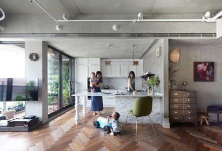 台湾高雄Bright House公寓设计 / HAO Design