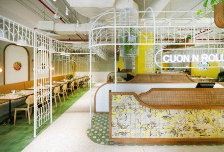 越南河内·CUON N ROLL创意主题餐厅