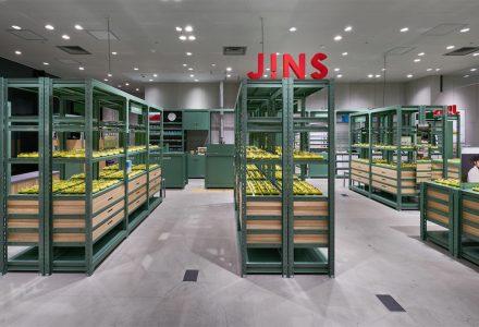东京·JINS品牌眼镜店(银座LOFT店)