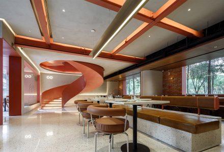 """武汉·""""PACO·汇""""融合餐厅设计 / 朴开十向"""