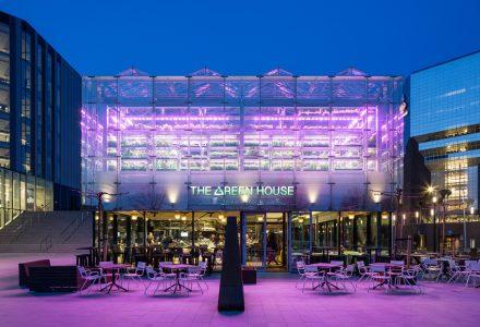 荷兰·The Green House生态体验式餐厅