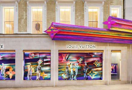 """伦敦·新邦德街""""LV路易威登""""旗舰店设计"""