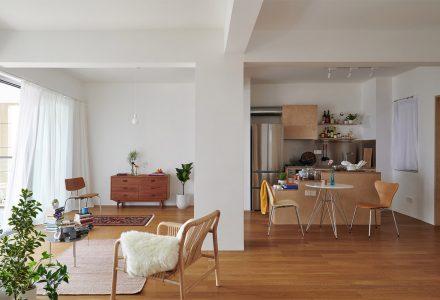 为一对老年夫妇设计的小户型公寓