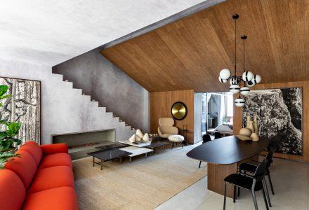 巴西圣保罗·Refugio Loft阁楼公寓设计