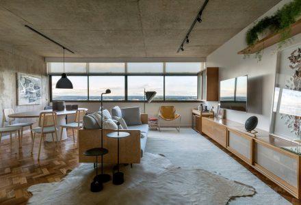 巴西利亚115S工业风公寓设计