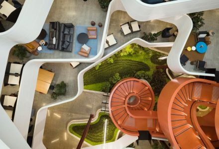 新西兰奥克兰·B-Hive Smales Farm办公楼设计